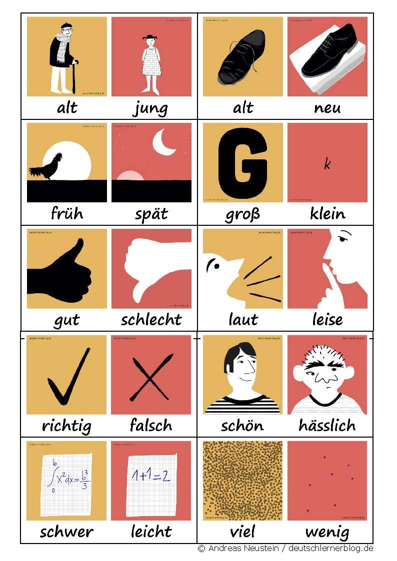 Adjektiv Deutsch